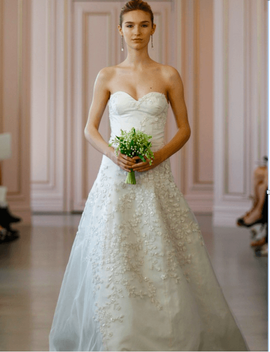 Oscar De La Renta Wedding Gowns