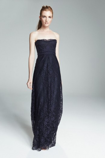 Navy-strapless-lace-bridesmaid-dress-amsale-filipa-348x522
