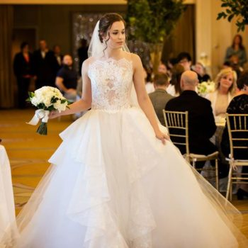 Omni Parker House:  Brides of Distinction 2017 Brunch and Fashion Show Featuring L'elite Boston