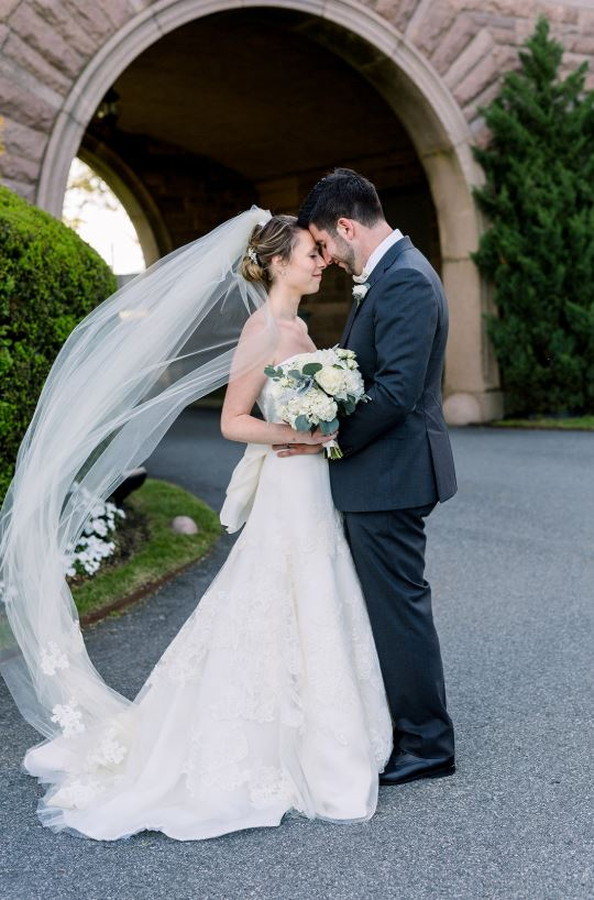 Lexi + Joe's Newport Wedding