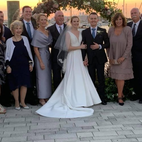 Mother of the Bride Wearing Catherine Regehr