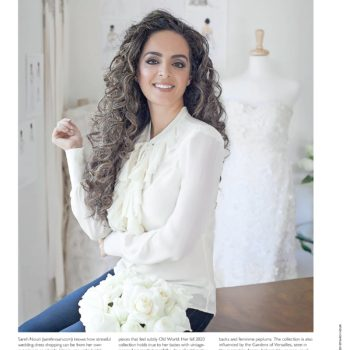 Congratulations to Sareh Nouri on her Modurn Luxury Weddings Magazine Cover and Feature